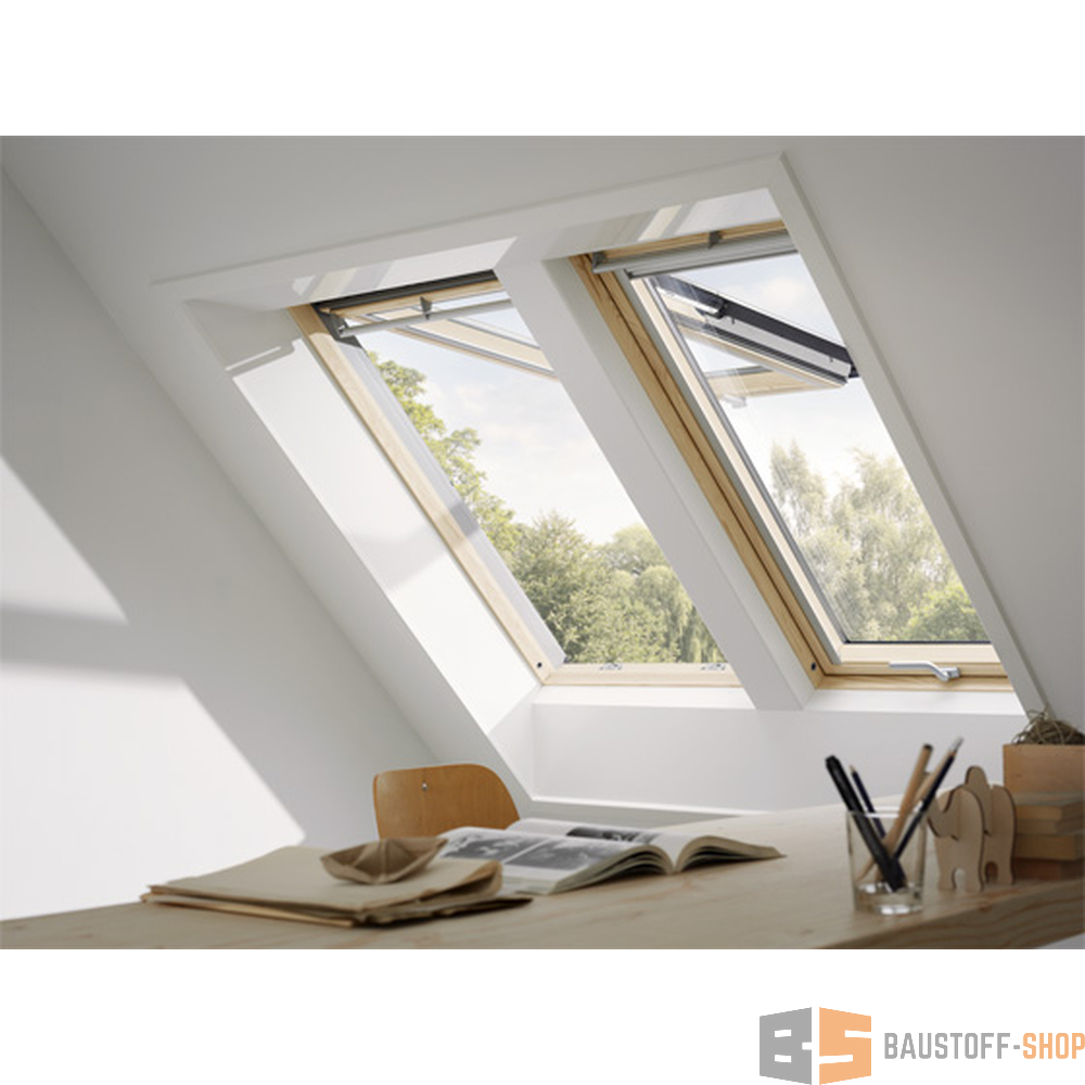 velux klapp schwingfenster gpl profiset plus mk08 78x140 kupfer. Black Bedroom Furniture Sets. Home Design Ideas