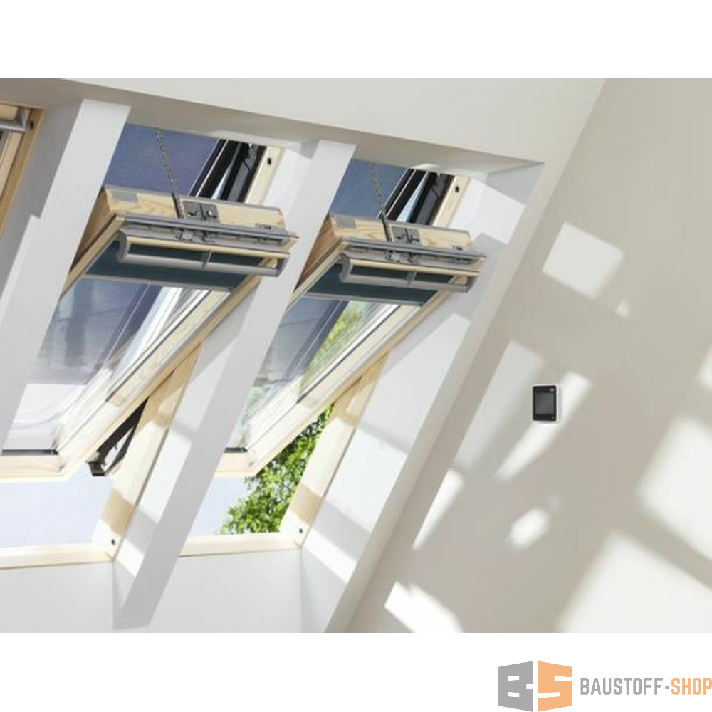 velux integra solarfenster ggl uk04 134x98 titanzink 3 fach verg. Black Bedroom Furniture Sets. Home Design Ideas
