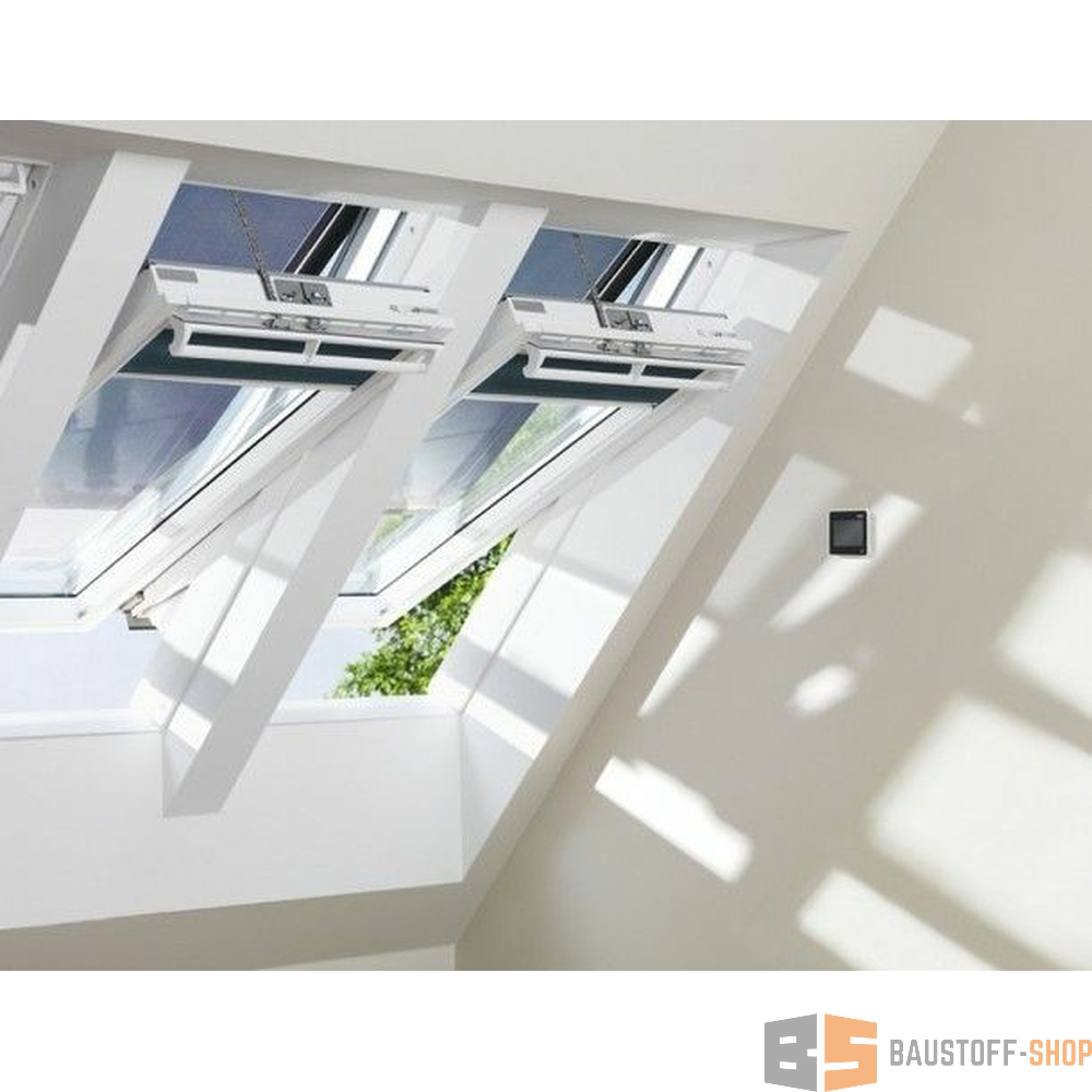 velux integra solarfenster ggu 750 43 baustoff. Black Bedroom Furniture Sets. Home Design Ideas
